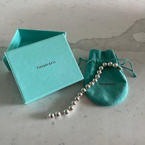 Authentic Tiffany Silver Ball Bracelet